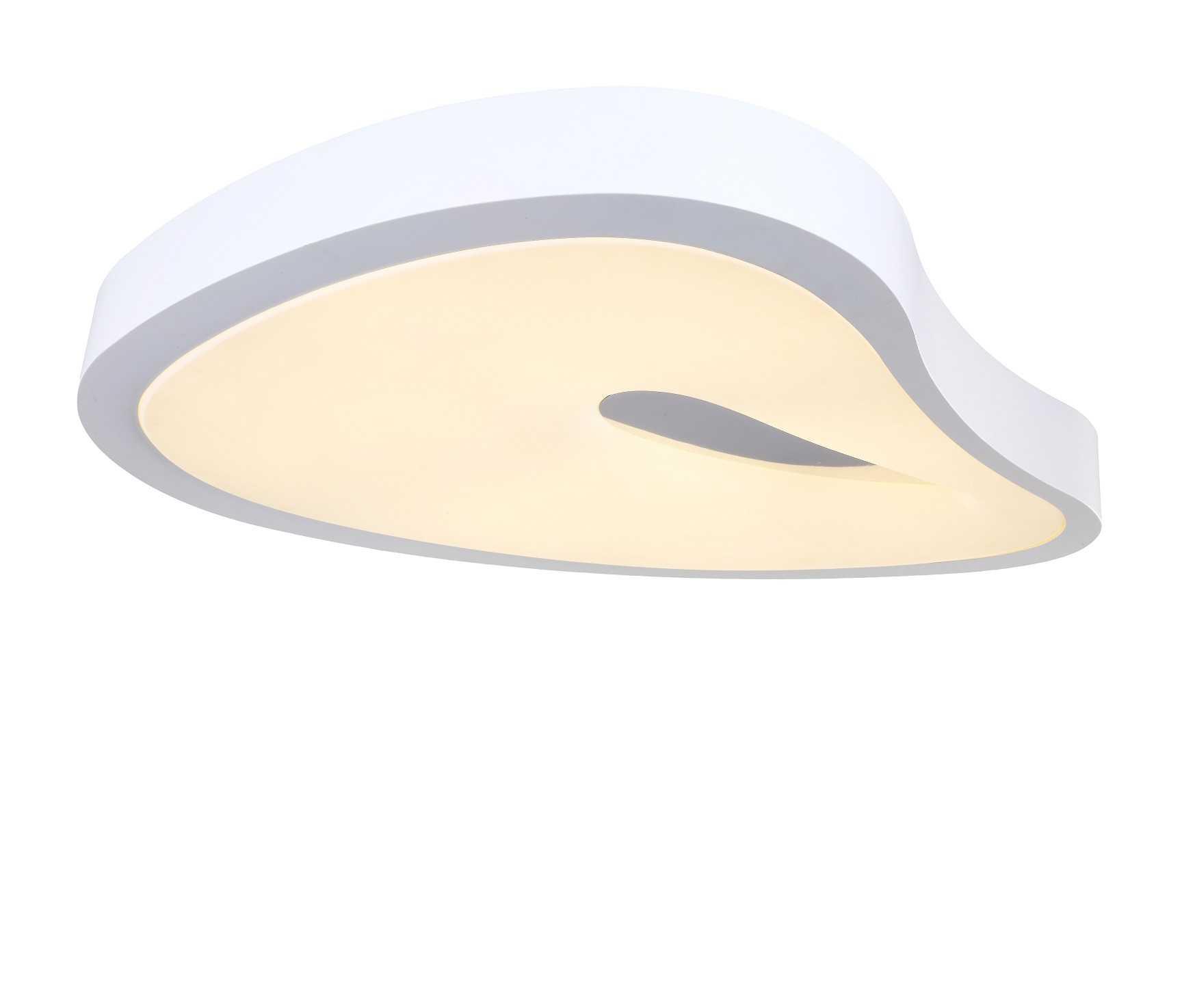 מעולה  מנורה צמודת תקרה דגם אמורפי - ברק תאורה WX-47