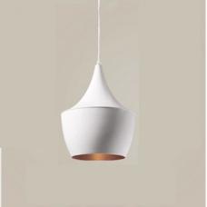 מנורת תליה דגם פיקסו B לבן זהב