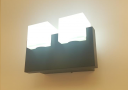 מנורת קיר שחור