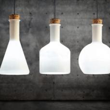 מנורת תליה דגם מילק שלישיה ABC
