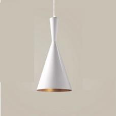 מנורת תליה דגם פיקסו A לבן זהב