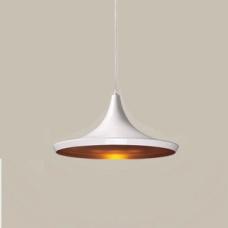 מנורת תליה דגם פיקסו C לבן זהב