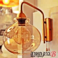 מנורה עגולה