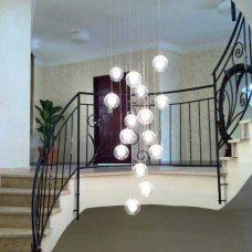 מנורת כדורים לסלון