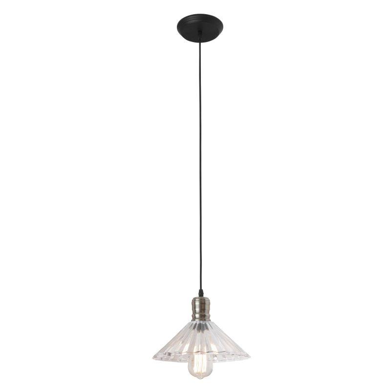 מנורת תליה דגם נאפולי שקוף
