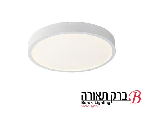 מנורה צמודת תקרה דגם מקס עגול (7 מידות) דק במיוחד 2.5 סמ'