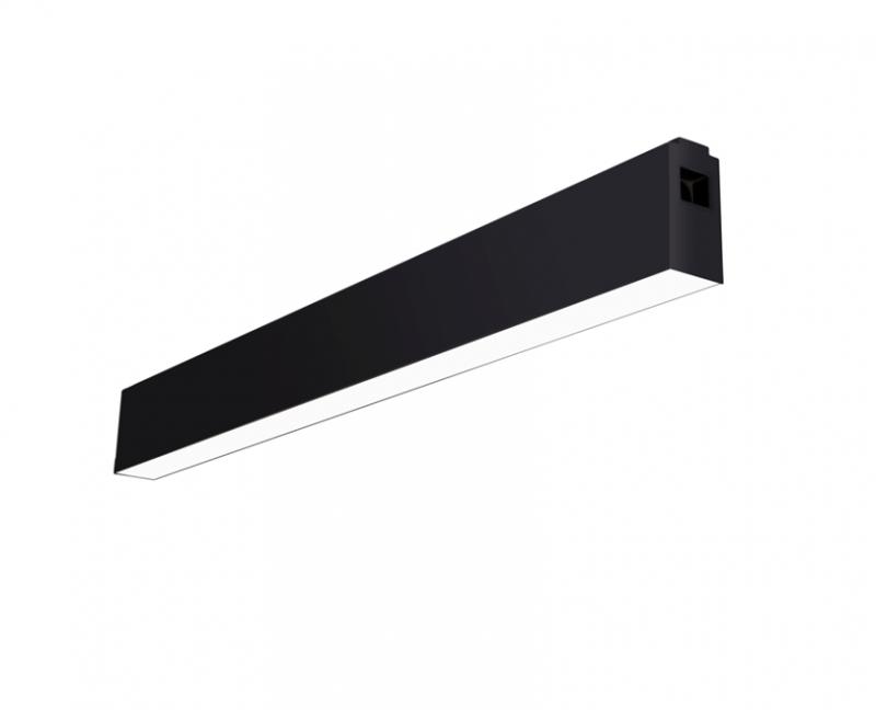 מנורה שחורה מלבנית