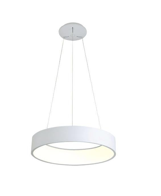 גוף תאורה תלוי דגם קלאסיק לבן (3 מידות)