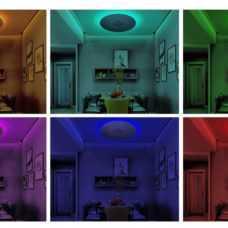 גוף תאורה צמוד תקרה דגם Bluetooth אמסטרדם (3 מידות)