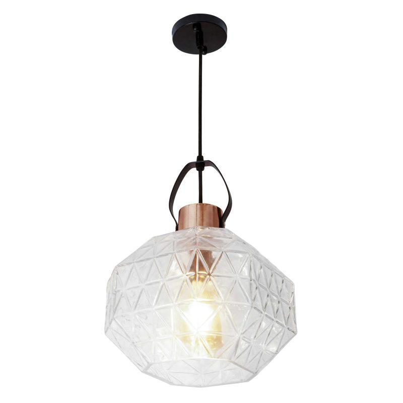 מנורת תליה דגם מרקו שקוף