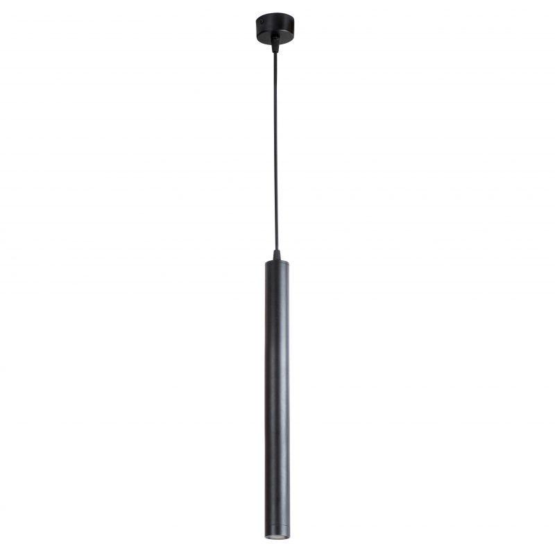 מנורת תליה צילינדר סקיני שחור (6 מידות)