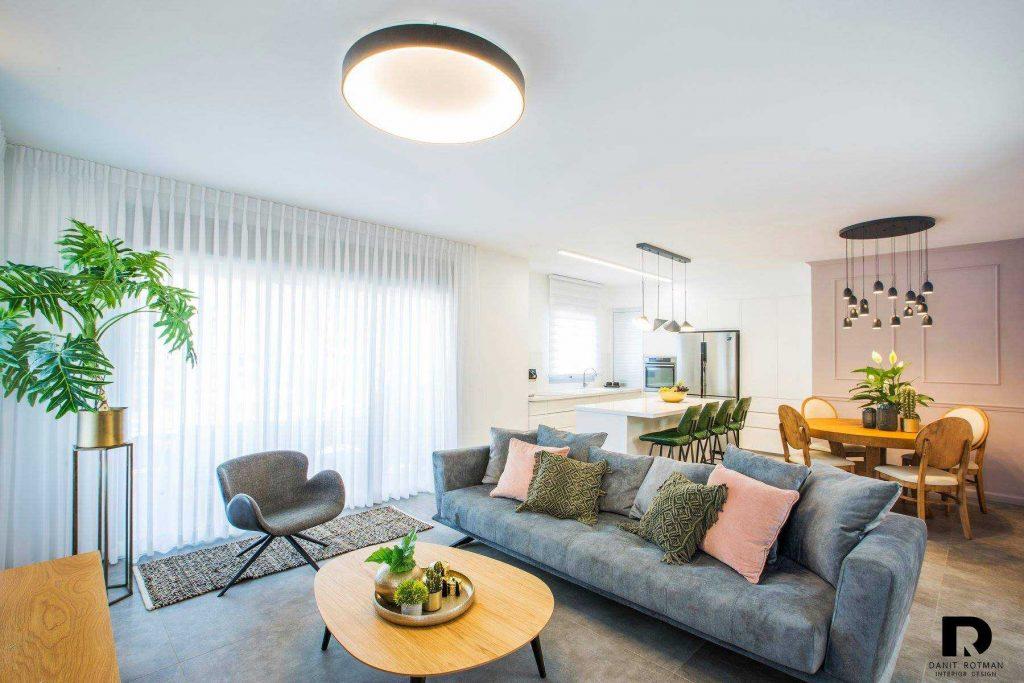 דירה בראשון לציון, עיצוב פנים-דנית רוטמן