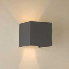 קיר רוקט 10W קוביה אפדאון מוגן מים (4 צבעים)