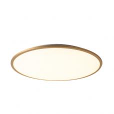 גוף תאורה צמוד תקרה דגם רחפת פליז (7 מידות)
