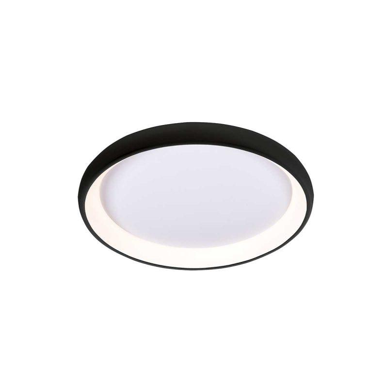 גוף תאורה צמוד תקרה דגם סופלה שחור (3 מידות)