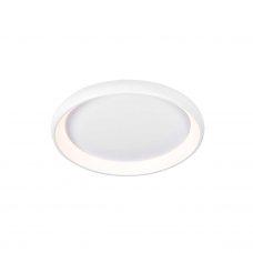 מנורה צמודת תקרה דגם סופלה לבן (3 מידות)
