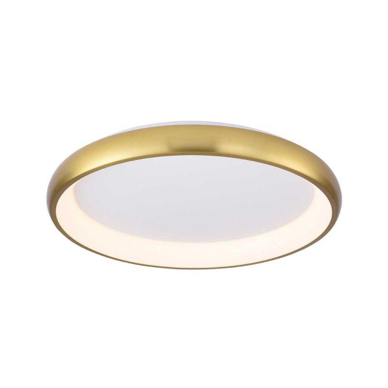 גוף תאורה צמוד תקרה דגם סופלה פליז (3 מידות)