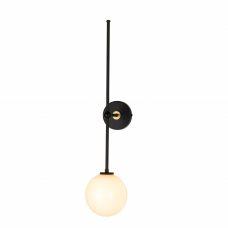 מנורת קיר ייצור מיוחד כדור אופל 7W שחור