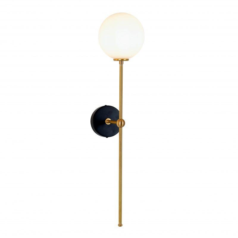 מנורת קיר ייצור מיוחד כדור אופל 7W פליז