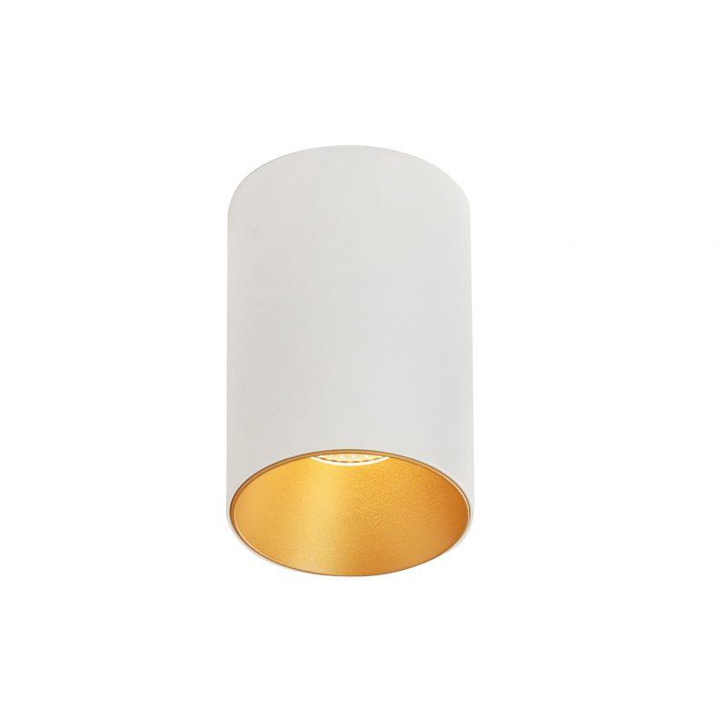 צילינדר טירן לבן זהב 12W