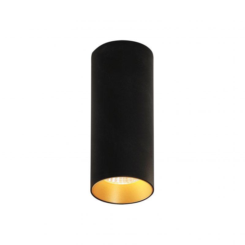 צילינדר טירן שחור זהב 7W
