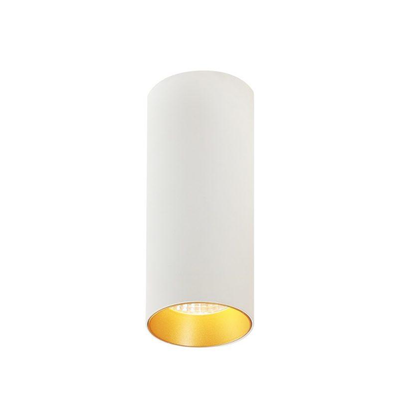 צילינדר טירן לבן זהב 7W