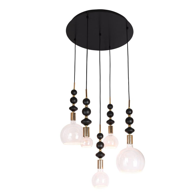 מנורת תליה דגם מובייל חרוזים