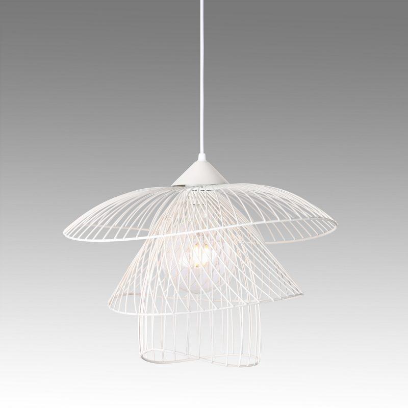 מנורת תליה דגם פלאוור C לבן