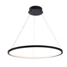 מנורת תליה דגם מגנום תלוי שחור דק במיוחד (3 מידות)